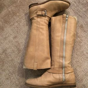 Cole Haan Leather Tan Boots